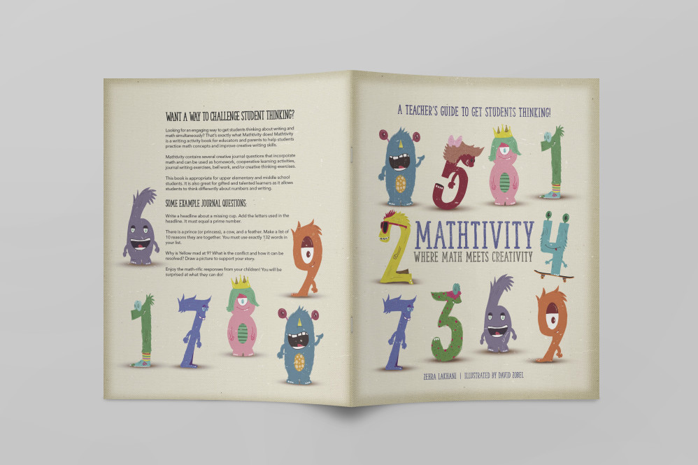 Cover and Back Cover for Mathivity