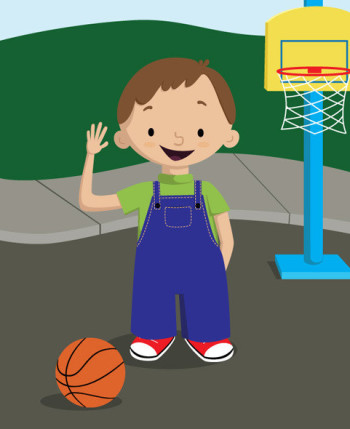 basketball boy