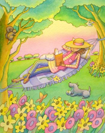 Garden Girl Two