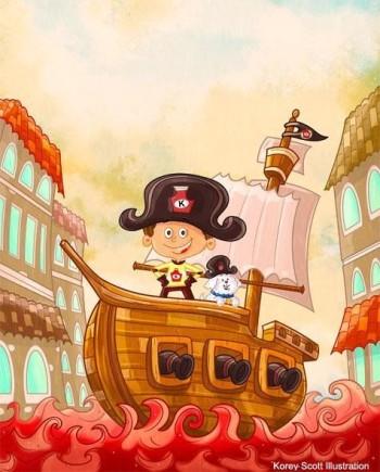 Captain Ketchup Sets Sail