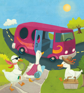 Duck Day Trip – Early Reader for Sadlier School