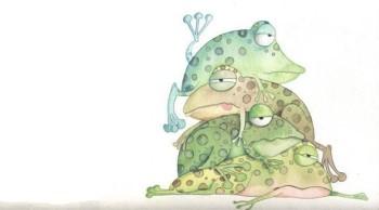 Pile of frogs - Pila de sapos