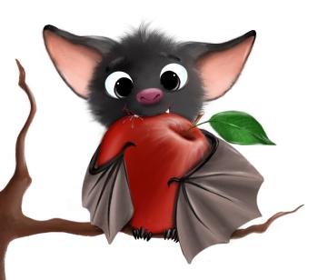Breakfast for bat