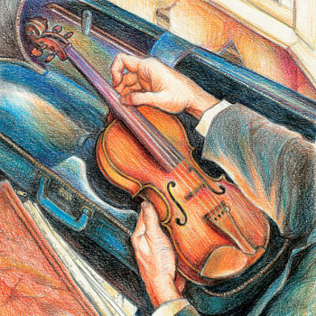 A Little Fiddle Music book cover