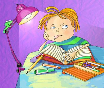 Too much homework - Demasiada tarea