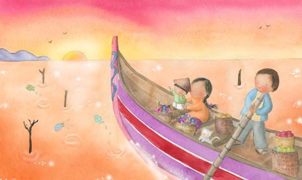 Illustration for Babybug Magazine March 2013