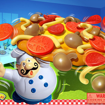 Pizza Pile Up game