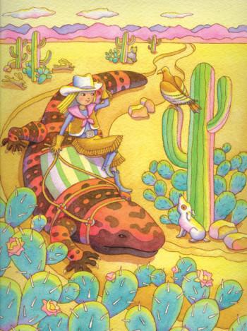 Iguana Girl 3