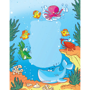 Sleepy Shark - Song Illustration - EECI Publishing