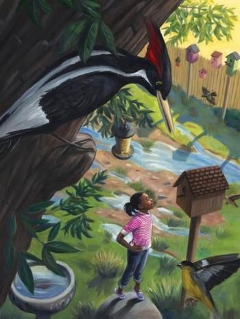 Hannah & The Birdman (Scholastic Storyworks magazi