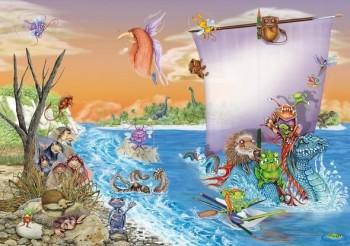 cover of the book 'Impariamo a disegnare e dipinge