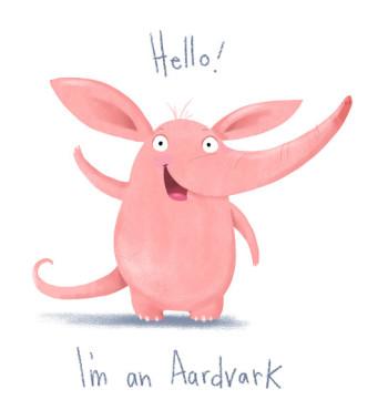 Hello I'm an Aardvark!