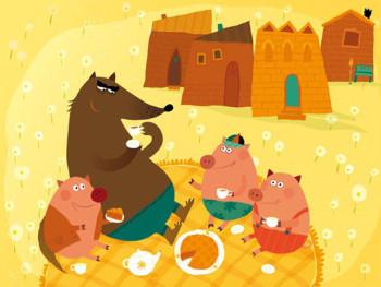 The three little pigs (3)