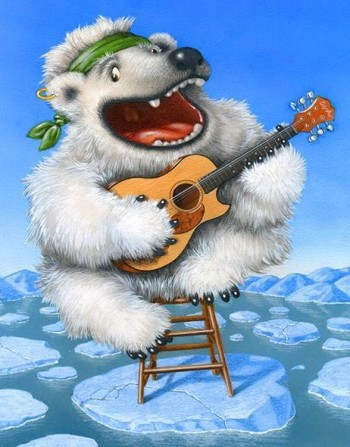 Singing Polar Bear