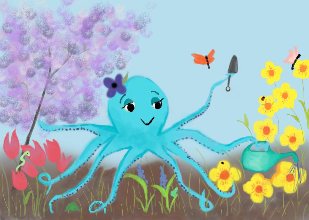Flowering Octopus