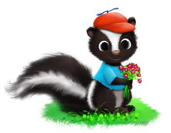 I'm skunk, nice to meet you!