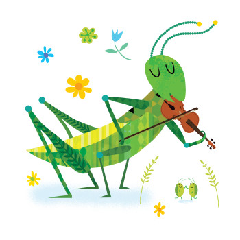 Fiddle time Grasshopper!