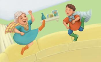 Super Grandma Super Powers