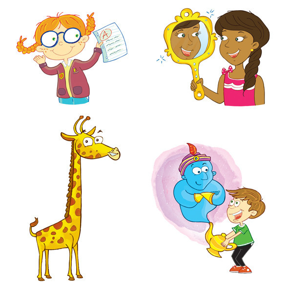 Character Spot Art Word Cards - EECI Publishing
