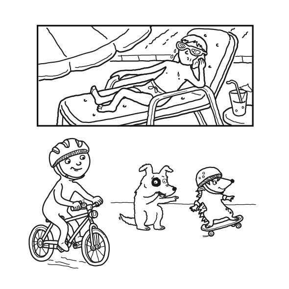 Illustrations for Educational Book