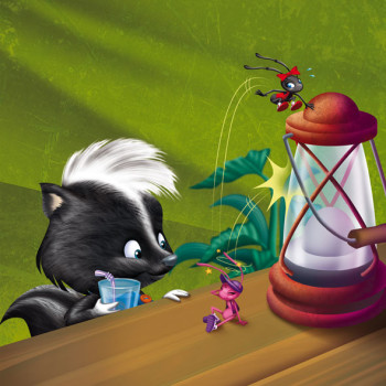 The Skunk and the Black Ant