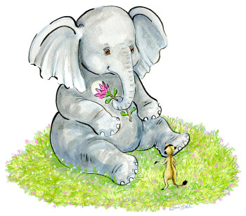 Elephant & Meerkat - Hello