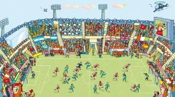 Look inside sport 'stadium'