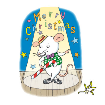 Christmas Dancing Mouse