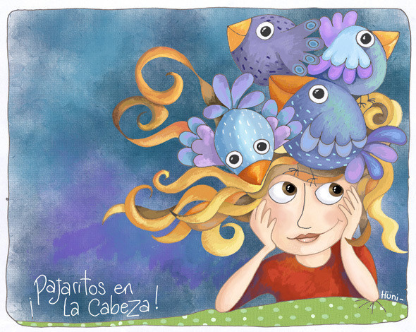 Pajaritos en la cabeza - Birds in my head