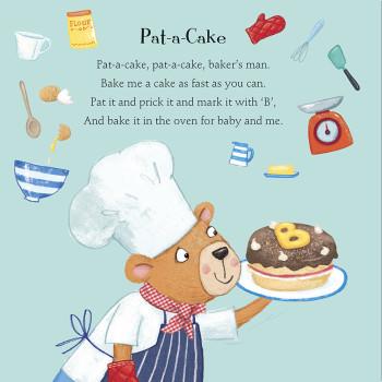 Pat-a-cake pat-a-cake bakers man