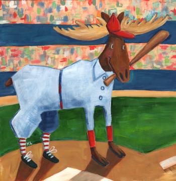 Baseball Moose