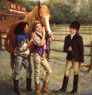 Saddle Club Girs