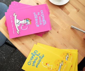 Books presentation, cover of the books