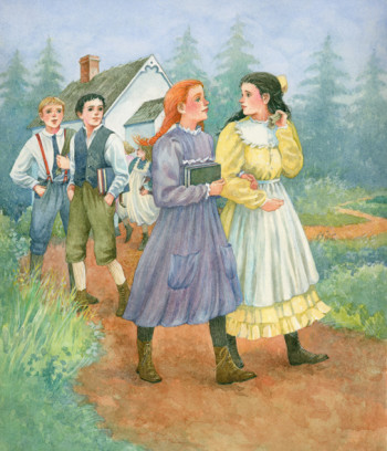 Anne of Green Gables:'I shall never forgive Gilber