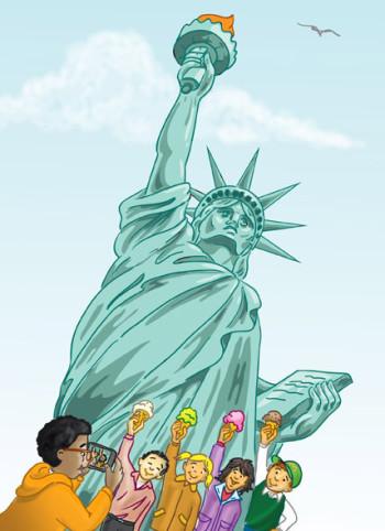 Liberty Visit