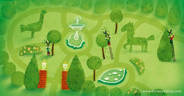 'A Leaf Can Be...' illustration