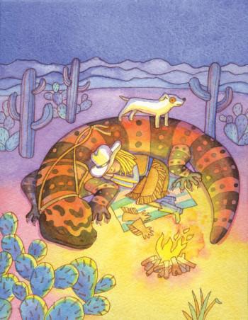 Iguana Girl 2