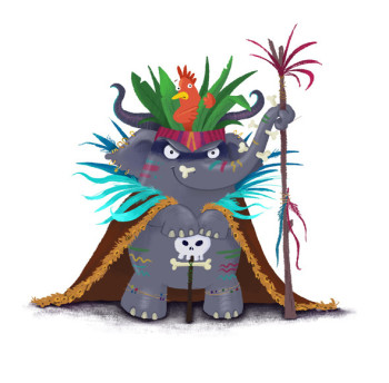 Witchdoctor Elephant