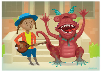 Mandolin Molly and her Melodious Monster Monty