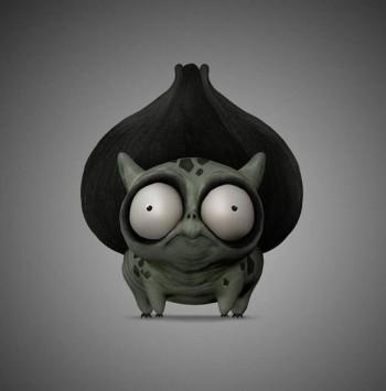 Pokemon style character