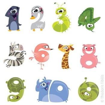 Learning counting with animal numbers