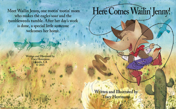 'Here Comes Wailin' Jenny' Title Spread