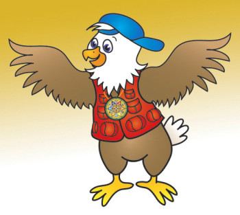 Eddie Eagle Character