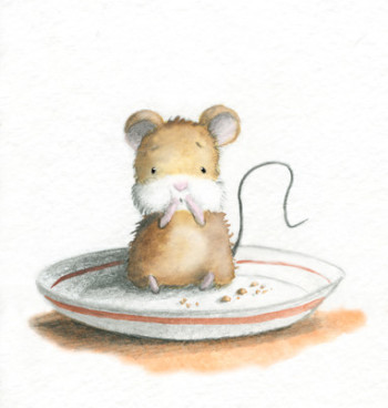 Hungry mousey