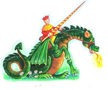 jousting dragon