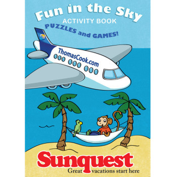 Sunquest activity book