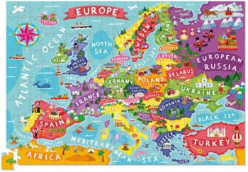 Europe Map, floor puzzle