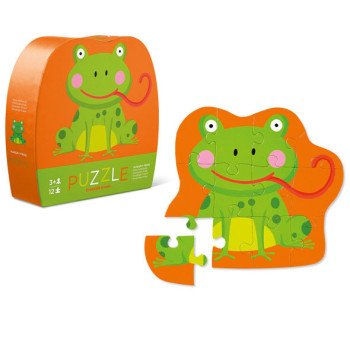 hungry frog puzzle