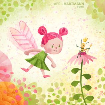 Fairy and Queen Bee