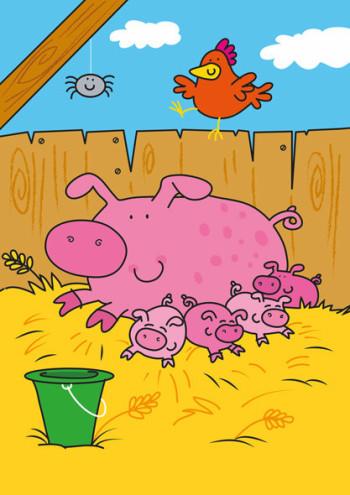 Pile of piggies